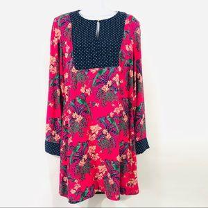 Maeve | Bird Printed Dress Size US8